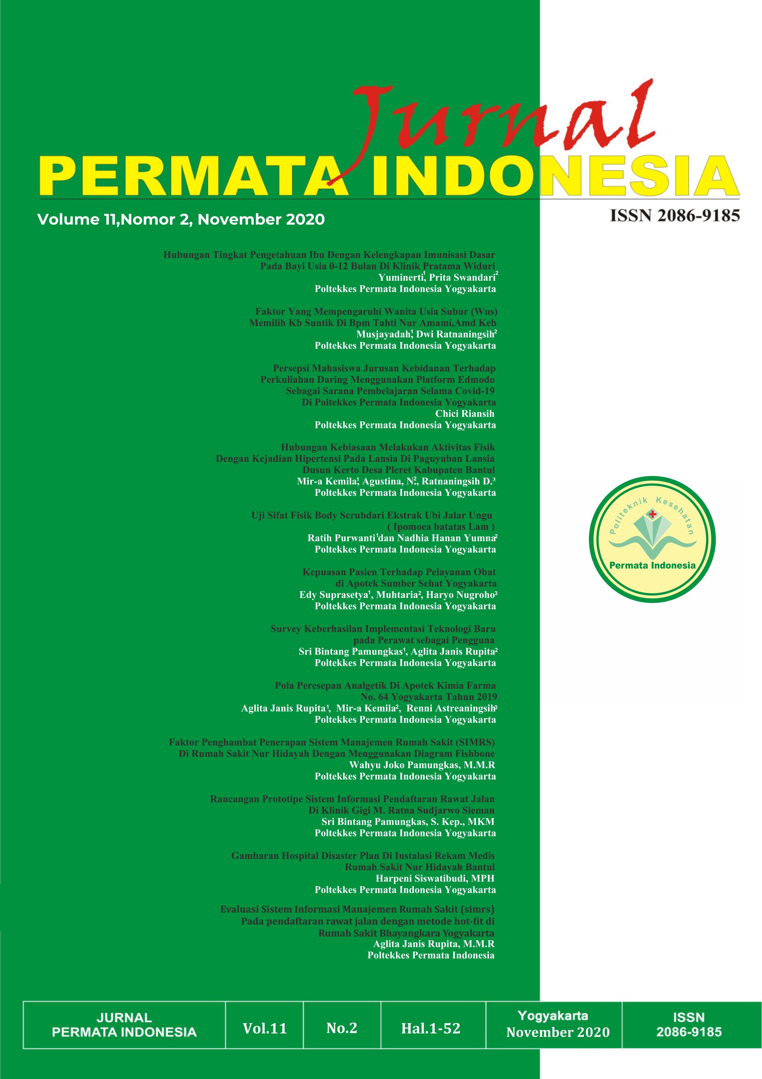 Lihat Jurnal Permata Indonesia Vol.11, No.2, November 2020
